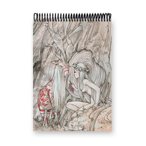 Kodama - Dibujo