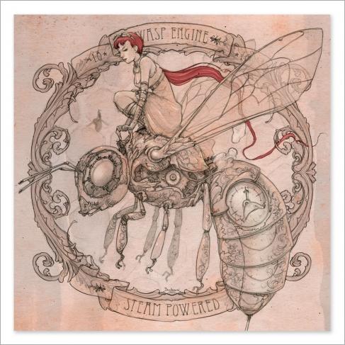 Wasp engine - Dibujo