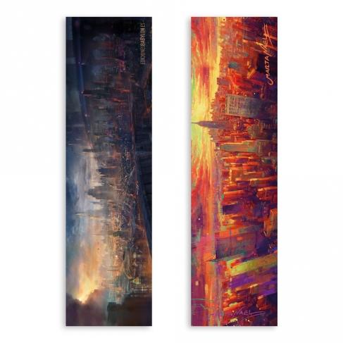 Modern city / New York