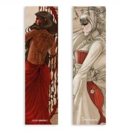 El mensaje - Color / Geisha Steampunk - Dibujo