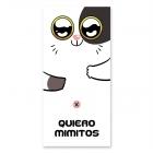 'Quiero mimitos' beach towel