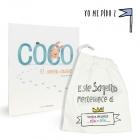 Coco. El conejo cobarde + children cloth bag