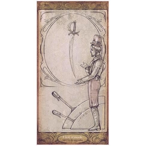 Poster Sota de espadas