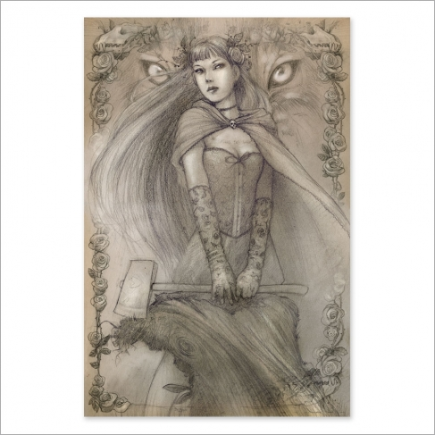 Caperucita - Dibujo