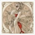 Geisha Steampunk drawing (Poster)