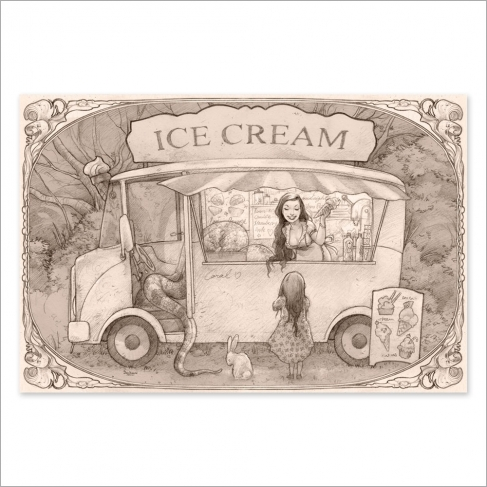 Ice cream time - Dibujo