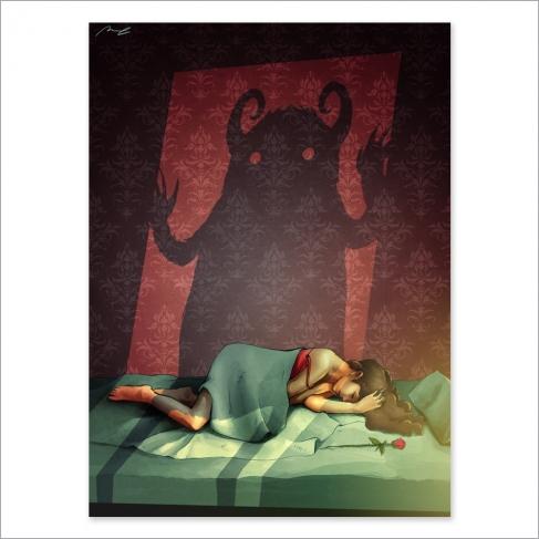 Bella durmiente y la bestia