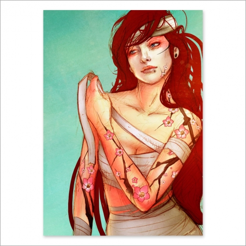 Tattoo girl 2