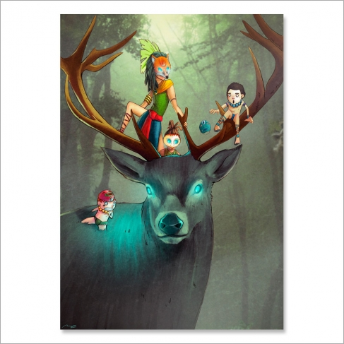 Deer tribe (Poster)