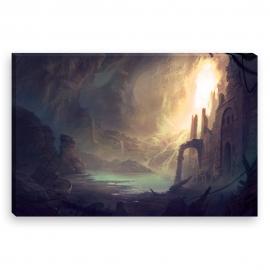 Caveboat (Canvas)
