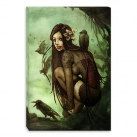 Lost dark princess (Canvas)