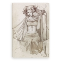 Clockwork heart pencil (Canvas)