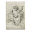 Mannequin pencil naked (Canvas)