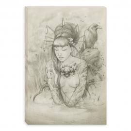 Mannequin desnuda - dibujo