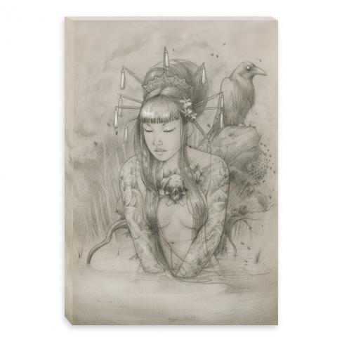 Mannequin pencil (Canvas)