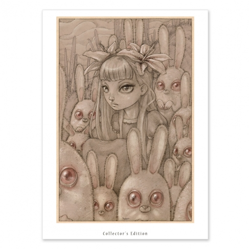 Bunnies from Outer Space - Dibujo