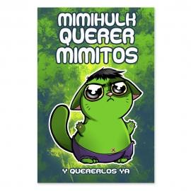 Cuddle me Hulk (Poster)
