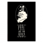 Feel like an alpaca (Poster)
