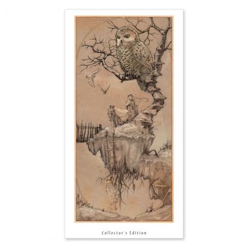 Isla flotante - Drawing