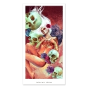 Girl and skulls (Collector sheet)