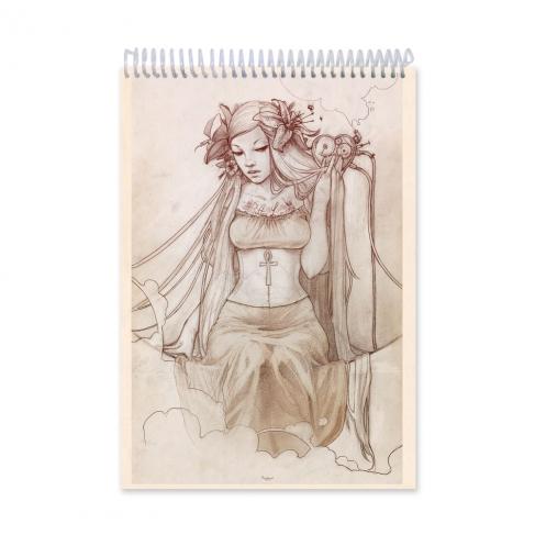 Clockwork heart - dibujo