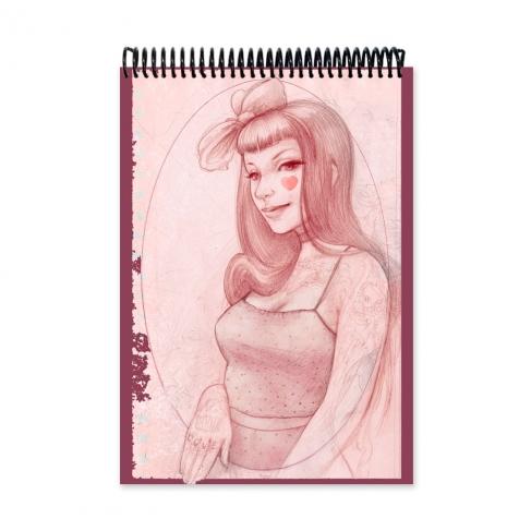 Pin up love - dibujo