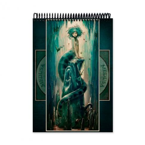 Medusa colour (Notebook)