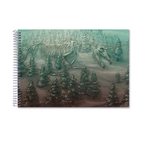 Giant skeleton colour (Notebook)