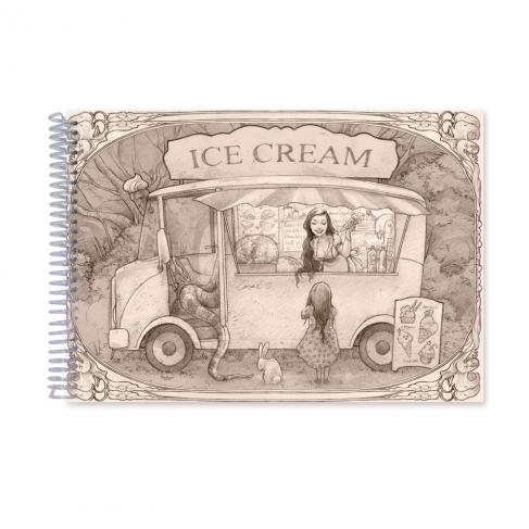 Ice Cream time - Dibujo