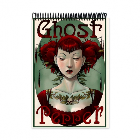 Ghost pepper - Color