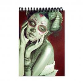 Skull 6 (Notebook)