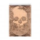 After skull - Dibujo