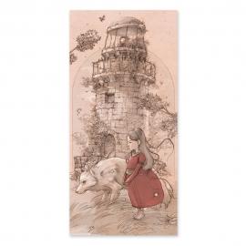 El viejo faro - Drawing