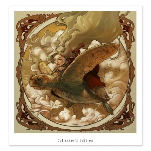 Tortuga voladora - Colour