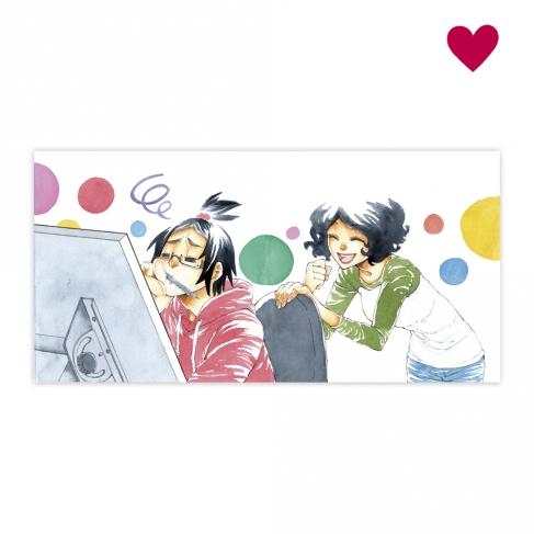 Animando Dibujante - Xian Nu Studio's Original Painting