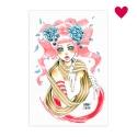 Pink girl - Original de Xian Nu Studio