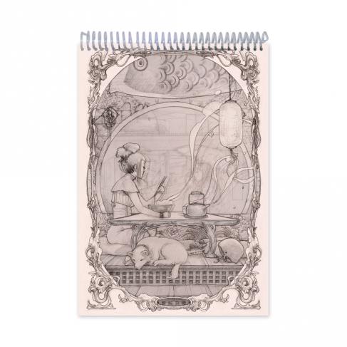 Ramen - Dibujo
