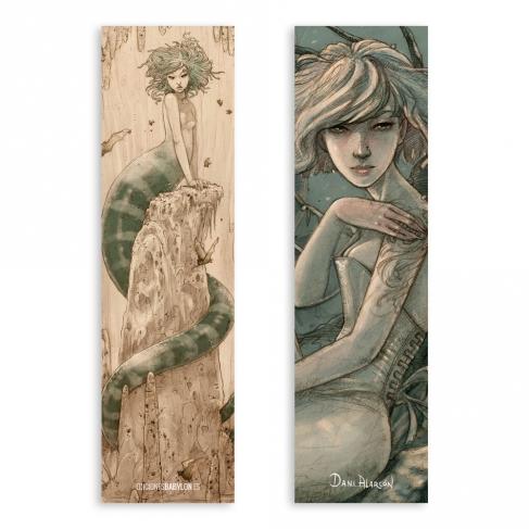 Medusa - Dibujo / Pale Faerie - Dibujo