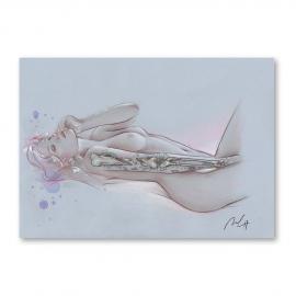 Bones - Jorge Monreal's Original Painting