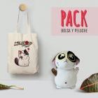 Pack bolsa y peluche mimitos