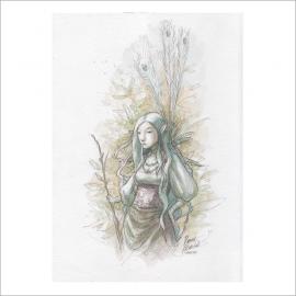 Elfa real - Dani Alarcon's Original Painting