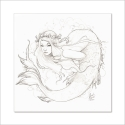 Sirena Lapiz I - Original de Dani Alarcón