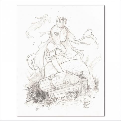 Sirena Cofre - Original de Dani Alarcón