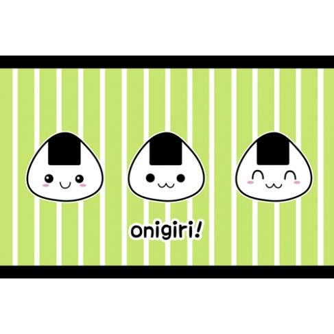 Kawaii onigiri! verde