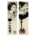 Geisha and Samurai (Bookmark)