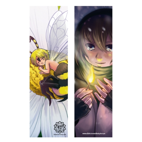 Match and Flower nap (Bookmark)