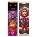 Goldilocks and Red riding hood (Bookmark)