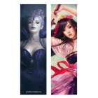 Raven queen and Japanese girl (Bookmark)