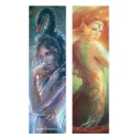 Black swan and Mermaid (Bookmark)