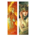 Female Pan and Phoenix (Bookmark)